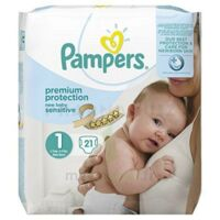 Pampers couches new baby sensitive taille 1 - 21 couches à BU