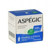 ASPEGIC 500 mg, poudre pour solution buvable en sachet-dose 30 à BU