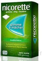 NICORETTE 2 mg Gom à mâcher médic sans sucre menthe fraîche Plq/30gom à BU