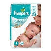 PAMPERS PROCARE PREMIUM Couche protection T1 2-5kg Paq/38 à BU