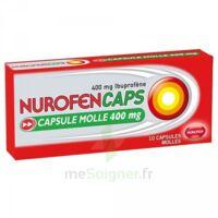 Nurofencaps 400 Mg Caps Molle Plq/10 à BU