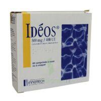 Ideos 500 Mg/400 Ui, Comprimé à Sucer Ou à Croquer à BU