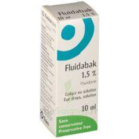 Fluidabak 1,5 %, Collyre En Solution à BU