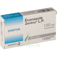 Econazole Zentiva Lp 150 Mg, Ovule à Libération Prolongée à BU