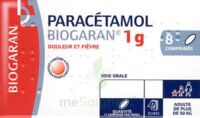 Paracetamol Biogaran 1 G, Comprimé Fl/8 à BU