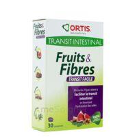 Ortis Fruits & Fibres Comprimés Transit Facile B/30 à BU