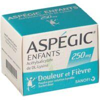 Aspegic Enfants 250, Poudre Pour Solution Buvable En Sachet-dose à BU