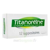 TITANOREINE Suppositoires B/12 à BU