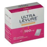 ULTRA-LEVURE 100 mg Poudre pour suspension buvable en sachet B/20 à BU