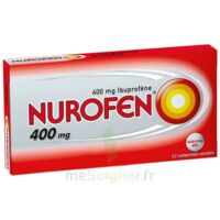 Nurofen 400 Mg Comprimés Enrobés Plq/12 à BU