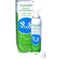 Actisoufre Solution Pour Pulvérisation Buccale/nasale En Flacon Pressurisé Fl Press/100ml à BU