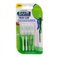Gum Trav - Ler, 1,1 Mm, Manche Vert , Blister 4 à BU