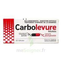 CARBOLEVURE Gélules adulte Plq/30 à BU