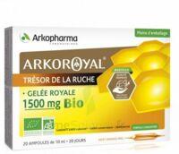 Arkoroyal Gelée royale bio 1500 mg Solution buvable 20 Ampoules/10ml à BU