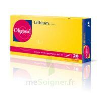 Oligosol Lithium Solution Buvable En Ampoule Ou En Récipient Unidose 28amp/2ml à BU
