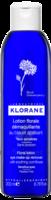 Klorane Soins des Yeux au Bleuet Lotion florale démaquillante 200ml à BU