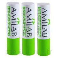 Amilab Baume labial réhydratant et calmant lot de 3 à BU