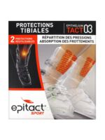 EPITACT SPORT PROTECTIONS TIBIALES EPITHELIUMTACT 03, bt 2 à BU