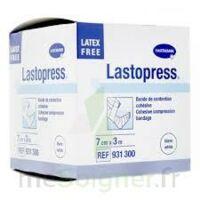 Lastopress® Bande De Compression Cohésive 10 Cm X 3,5 Mètres - Coloris Blanc à BU