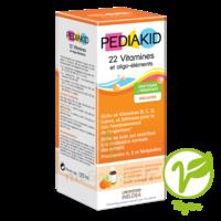 Pédiakid 22 Vitamines et Oligo-Eléments Sirop abricot orange 250ml à BU