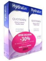 Hydralin Quotidien Gel lavant usage intime 2*200ml à BU