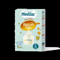 Modilac Céréales Farine Biscuit miel à partir de 6 mois B/300g à BU