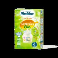 Modilac Céréales Farine 5 Céréales bio à partir de 6 mois B/230g