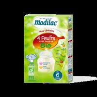 Modilac Céréales Farine 4 Fruits quinoa bio à partir de 6 mois B/230g à BU