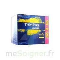 Tampax Compak - Tampon Régulier à BU