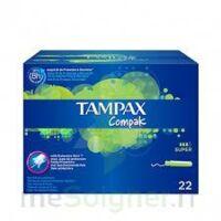 Tampax Compak - Tampon Super à BU