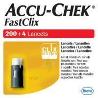 Accu-chek Fastclix Lancettes B/204 à BU