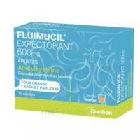Fluimucil Expectorant Acetylcysteine 600 Mg Glé S Buv Adultes 10sach à BU