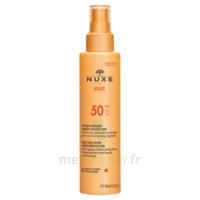 Spray Solaire Visage Et Corps Haute Protection Spf 50 Nuxe Sun150ml à BU