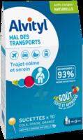 Alvityl Sucette Mal Des Transports B/10 à BU
