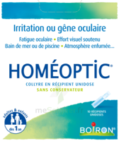 Boiron Homéoptic Collyre unidose à BU