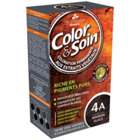 Color&soin Kit Coloration Permanente 4a Marron Glacé à BU