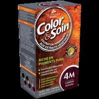 Color&soin Kit Coloration Permanente 4m Châtain Acajou à BU