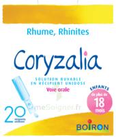 Boiron Coryzalia Solution Buvable Unidose B/20 à BU
