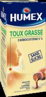 Humex 5 % Solution Buvable Expectorant Sans Sucre Adulte Fl/250ml à BU