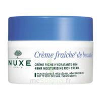 Crème Fraiche® De Beauté - Crème Riche Hydratante 48h Et Anti-pollution50ml à BU