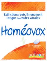 Boiron Homéovox Comprimés à BU