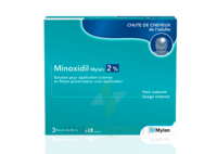 MINOXIDIL MYLAN 2 %, solution pour application cutanée à BU