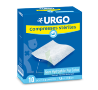 Urgo Compresse Stérile 7,5x7,5cm 10 Sachets/2 à BU