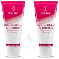 Weleda Duo Pâte Dentifrice Au Ratanhia 150ml à BU