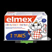 Elmex Duo Dentifrice Enfant, Tube 50 Ml X 2 à BU