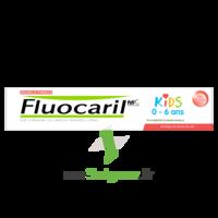Fluocaril Kids Dentifrice Fraise 0-6 Ans T/50ml à BU