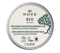 Nuxe Bio Déodorant Baume Fraîcheur 24h Peaux Sensibles Pot/50g à BU