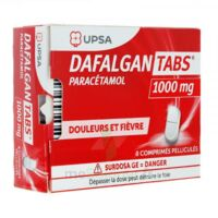 Dafalgantabs 1 G Cpr Pell Plq/8 à BU