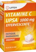 Vitamine C Upsa Effervescente 1000 Mg, Comprimé Effervescent à BU