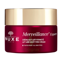 Nuxe Merveillance Expert Crème Nuit Rides Installées Et Fermeté Pot/50ml à BU